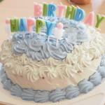 1歳の誕生日に✨赤ちゃんが食べても安心♥スマッシュケーキの紹介動画