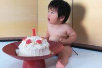 テーマは「和」✨ 1歳のお誕生日にケーキスマッシュ!