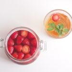 簡単にできる いちご酢の作り方