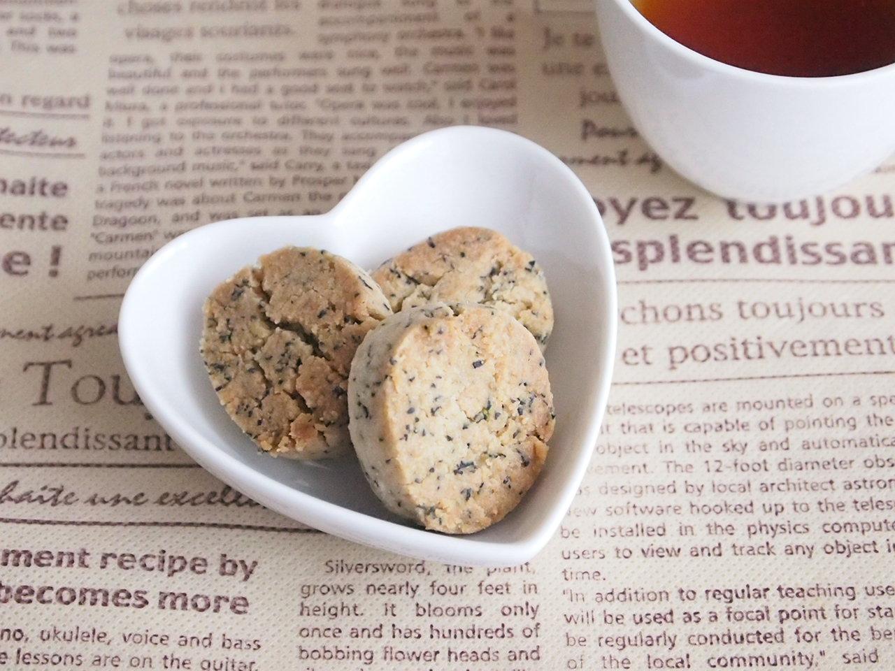 米粉のアールグレイクッキー
