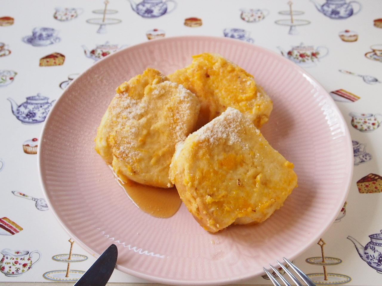 米粉のもっちりフレンチトースト【卵・乳製品・小麦・ナッツ不使用】レシピ