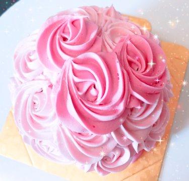 1歳のお誕生日会に♡ミニーマウスのスマッシュケーキ
